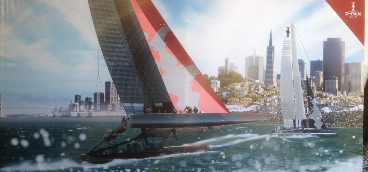 City Front Transamerica w/splash (10 foot x 5 foot) $1,000