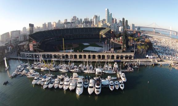 2016 Progressive San Francisco Boat Show - Mc Covey Cove, San Francisco, California