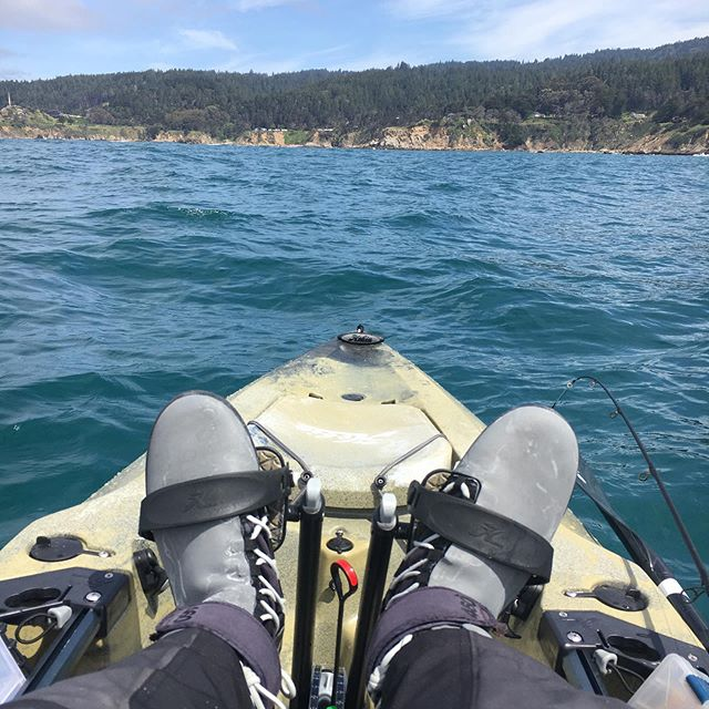 The wet weather and gale warnings at the coast are making us miss the conditions we had. Who else got out while it was flat last week? #hobie #hobiekayak #rockfishing #hobieoutback #hobieoutback2019 #kayakfishing #sonomacoast #windtoysfishing