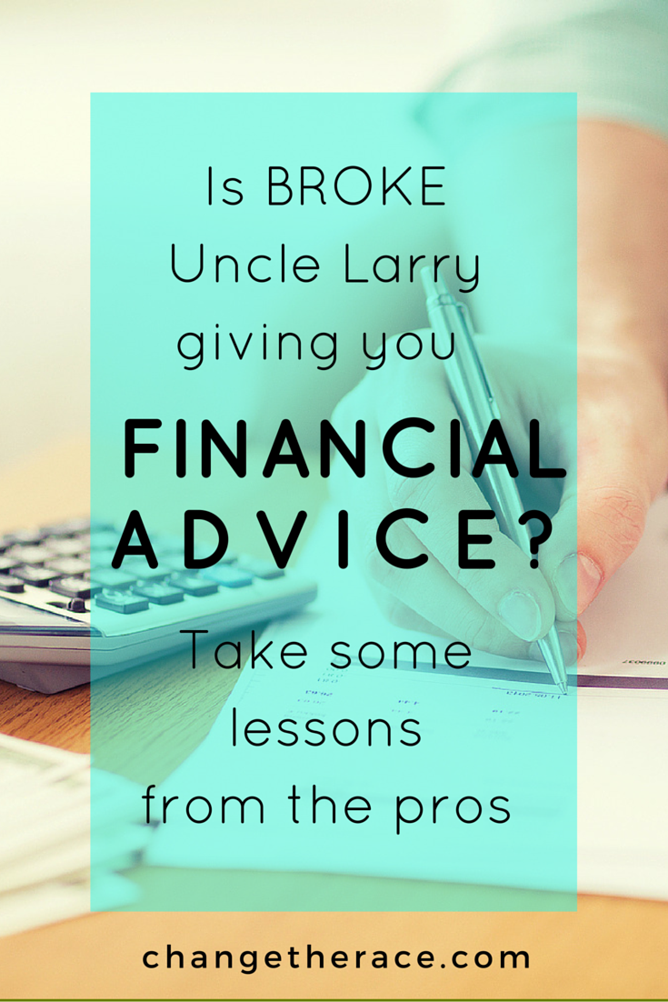 financial advice lessons