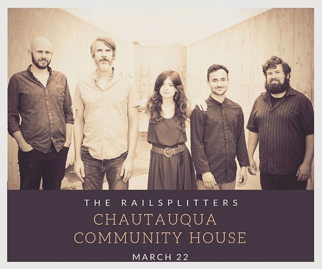 The Railsplitters will be at @colorado_chautauqua in the #communityhouse on #march22  Get your tickets at www.chautauqua.com