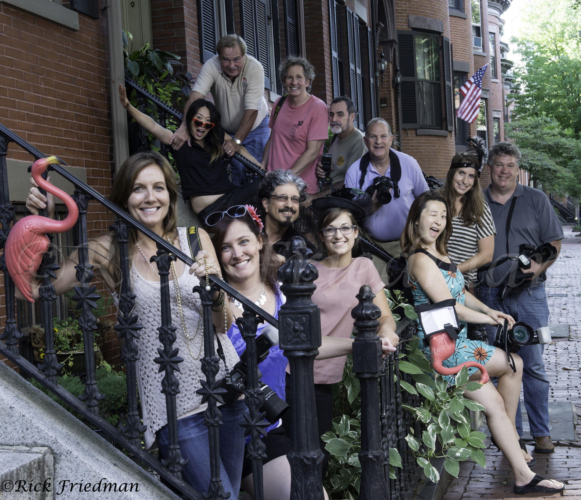 Fun group picture from Boston Workshop