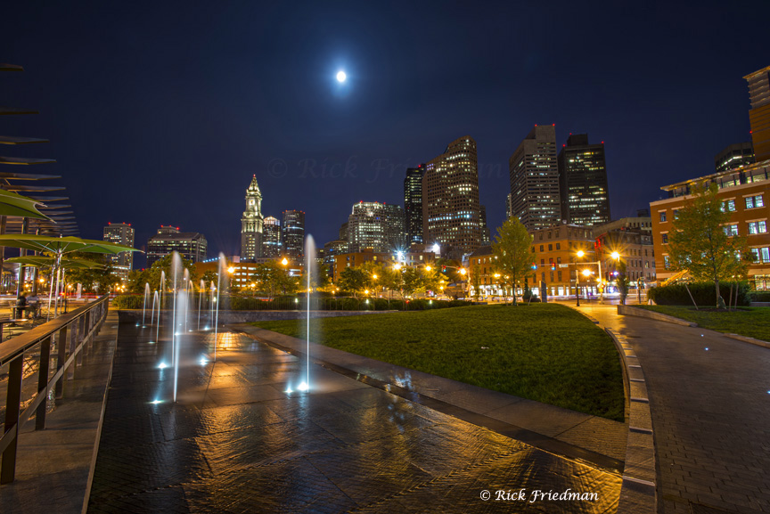 Rose Kennedy Greenway Park