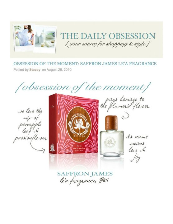 The Daily Obsession August 2010