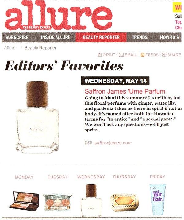 Allure.com March 2012