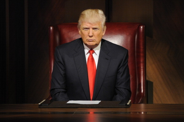 "Donald Trump in ""All-Star Celebrity Apprentice."" NBC/NBCU Photo Bank via Getty Images"