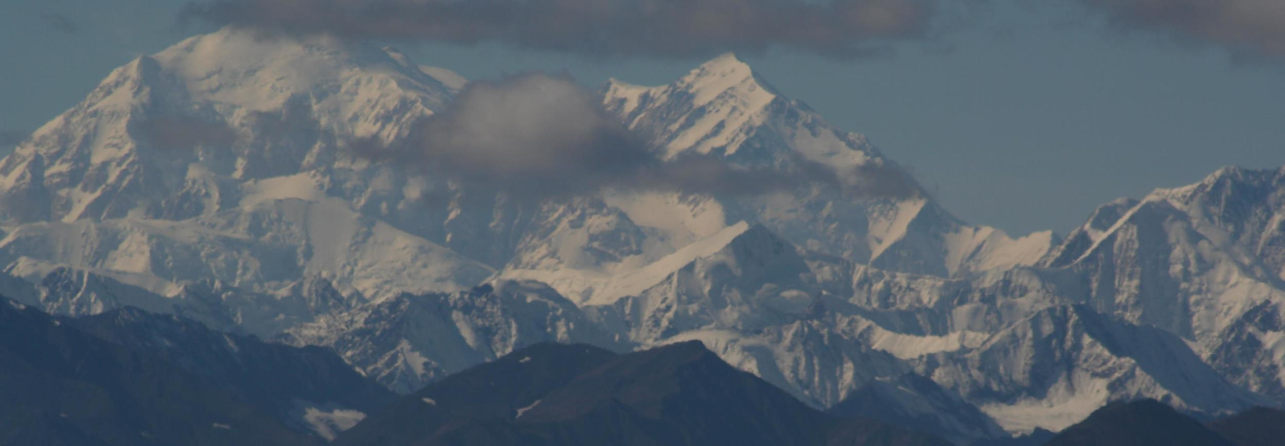 Denali. Alaska is home of many people, places, and experiences dear to me - including research for my first major piece of scholarship: my dissertation.  [Photo by Patti]