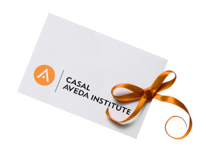 Purchase Gift Cards from Casal Aveda Institute at our Retail Center or    Online!