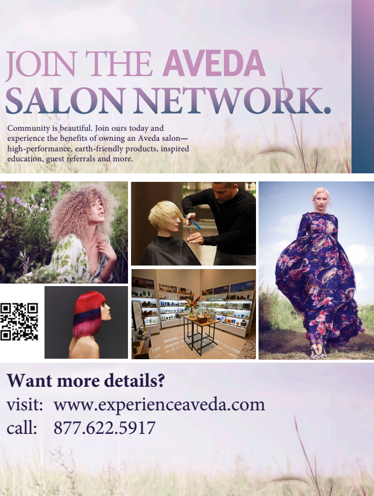 Contact Aveda to find out more about becoming a visionary partner.