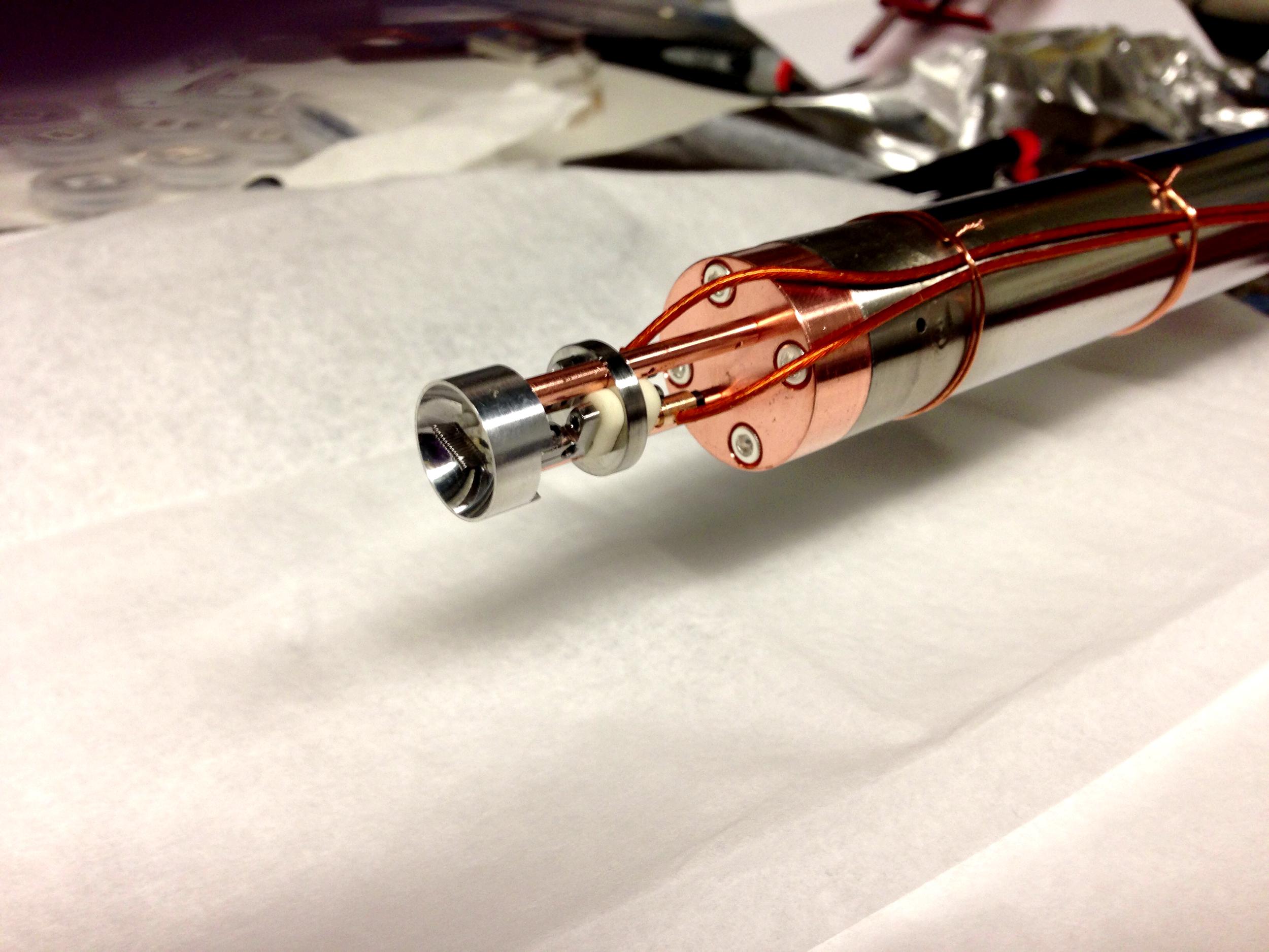 APEX Photocathode Deposition Heating System