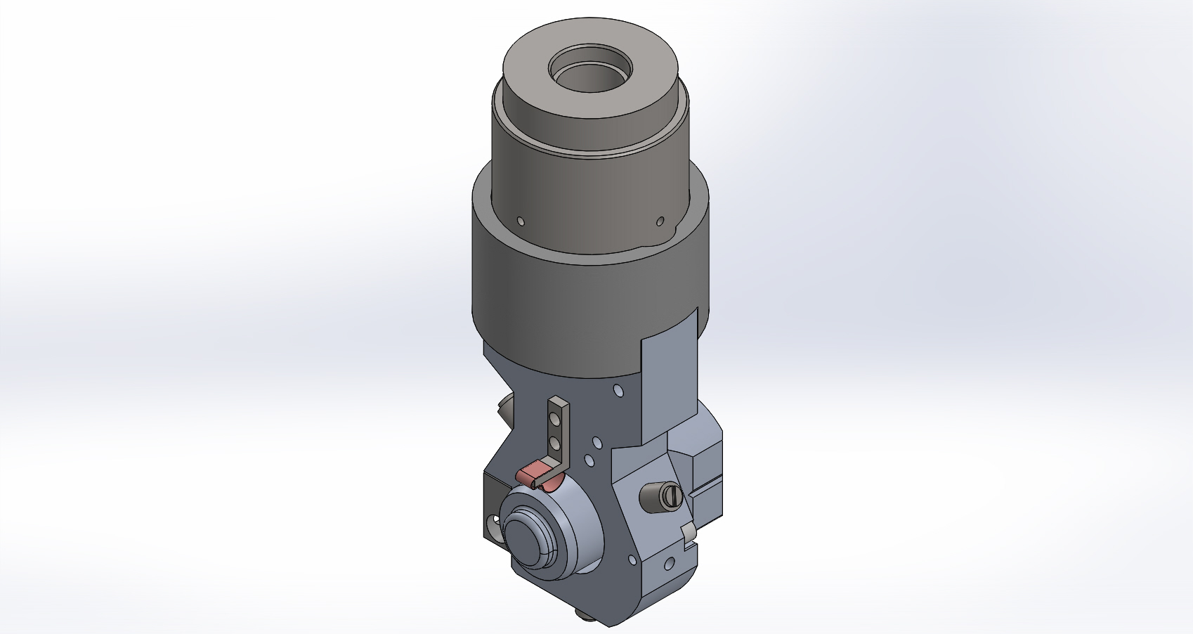 Coating Mount CAD Assembly