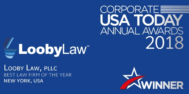 LoobyLaw Named Corporate USA Today 2018 Best Law Firm of the Year in