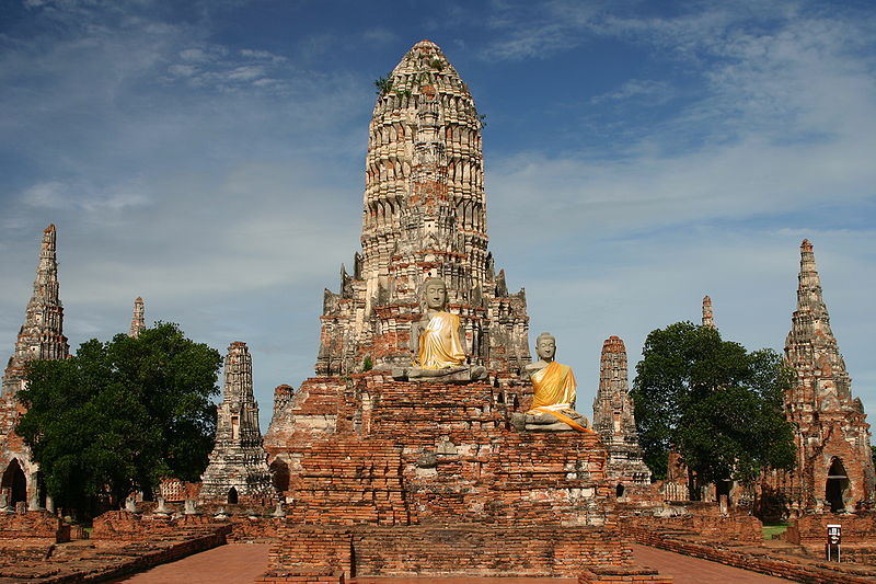 Ayutthaya, Thailand  (Source: Wikimedia Commons)