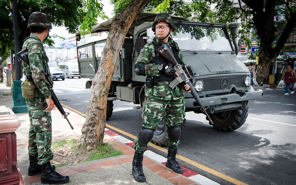 Thailand coup: Chang Phueak Gate Chiang (Photo:  Takeway )