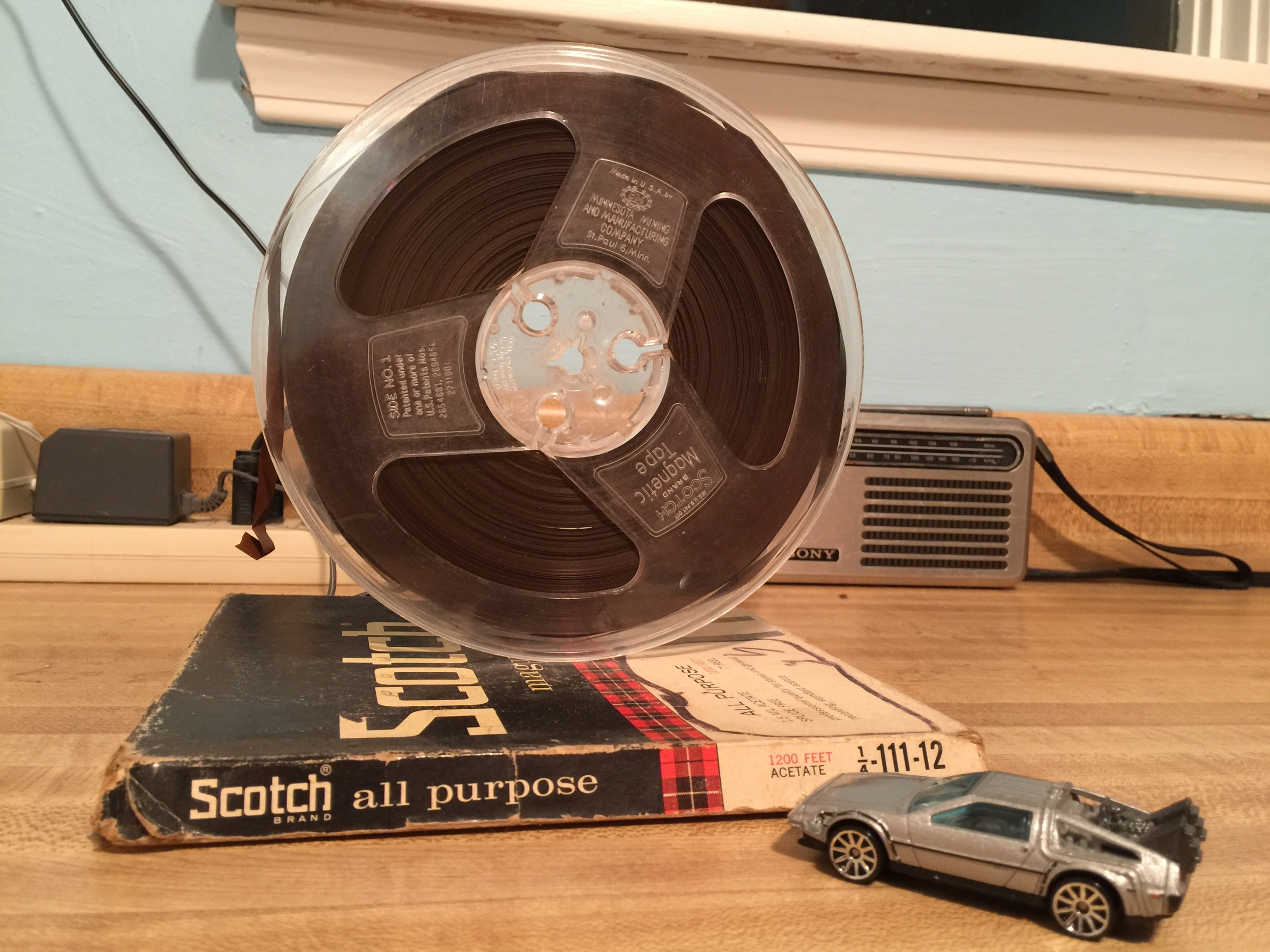 Paul's reel tape containing this Radio Netherland's recording