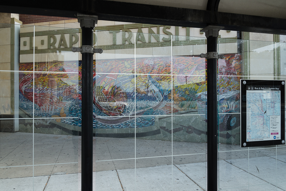 Through the CTA Bus Shelter_2013.jpg