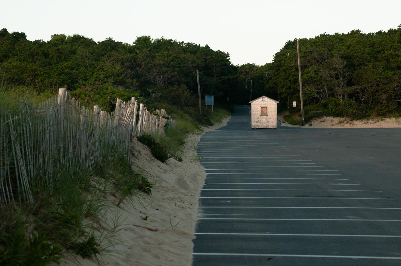 Morning Light on the Beach Hut