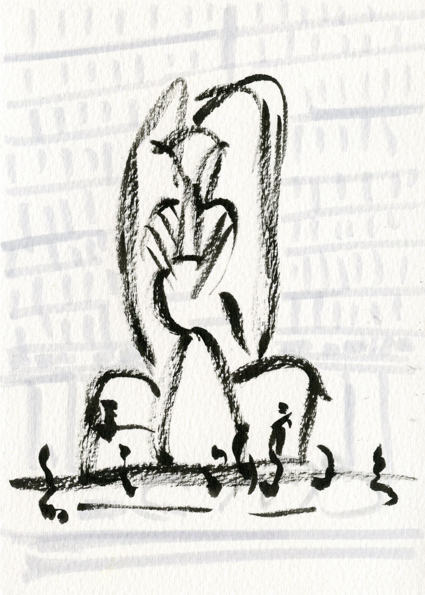 Chicago Picasso Postcard No. 4