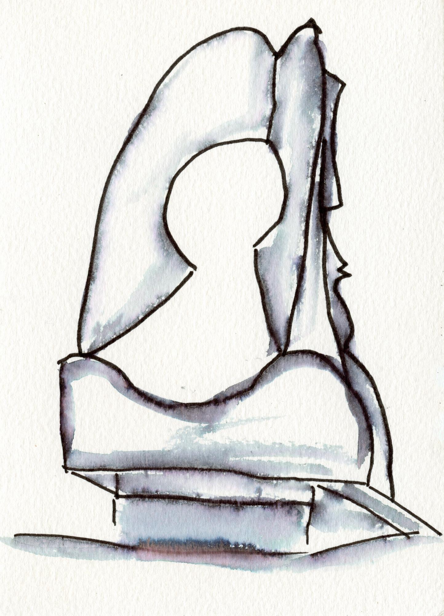 Chicago Picasso Postcard No. 10