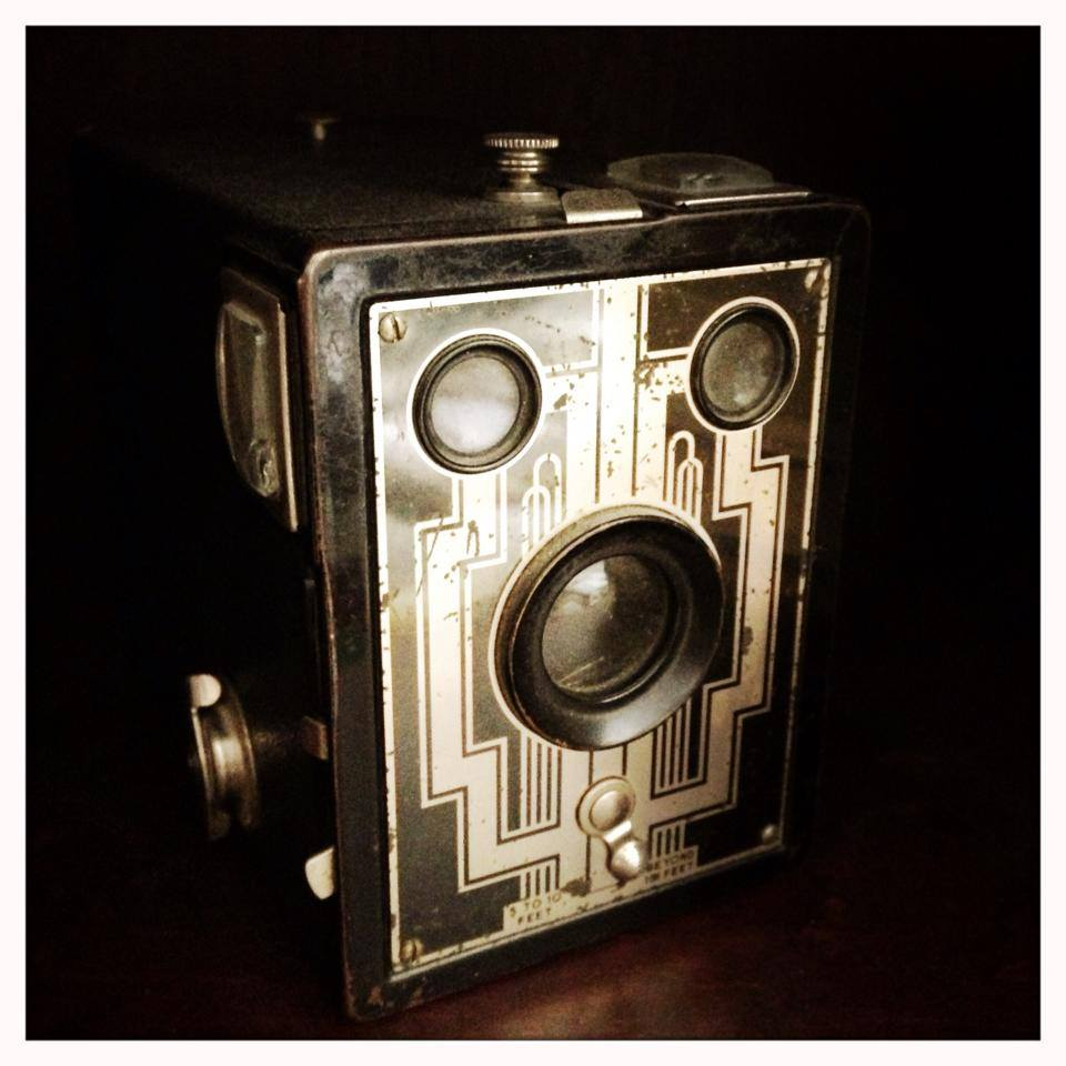 My grandmother's first camera / Six-16 Brownie originally $3-$4