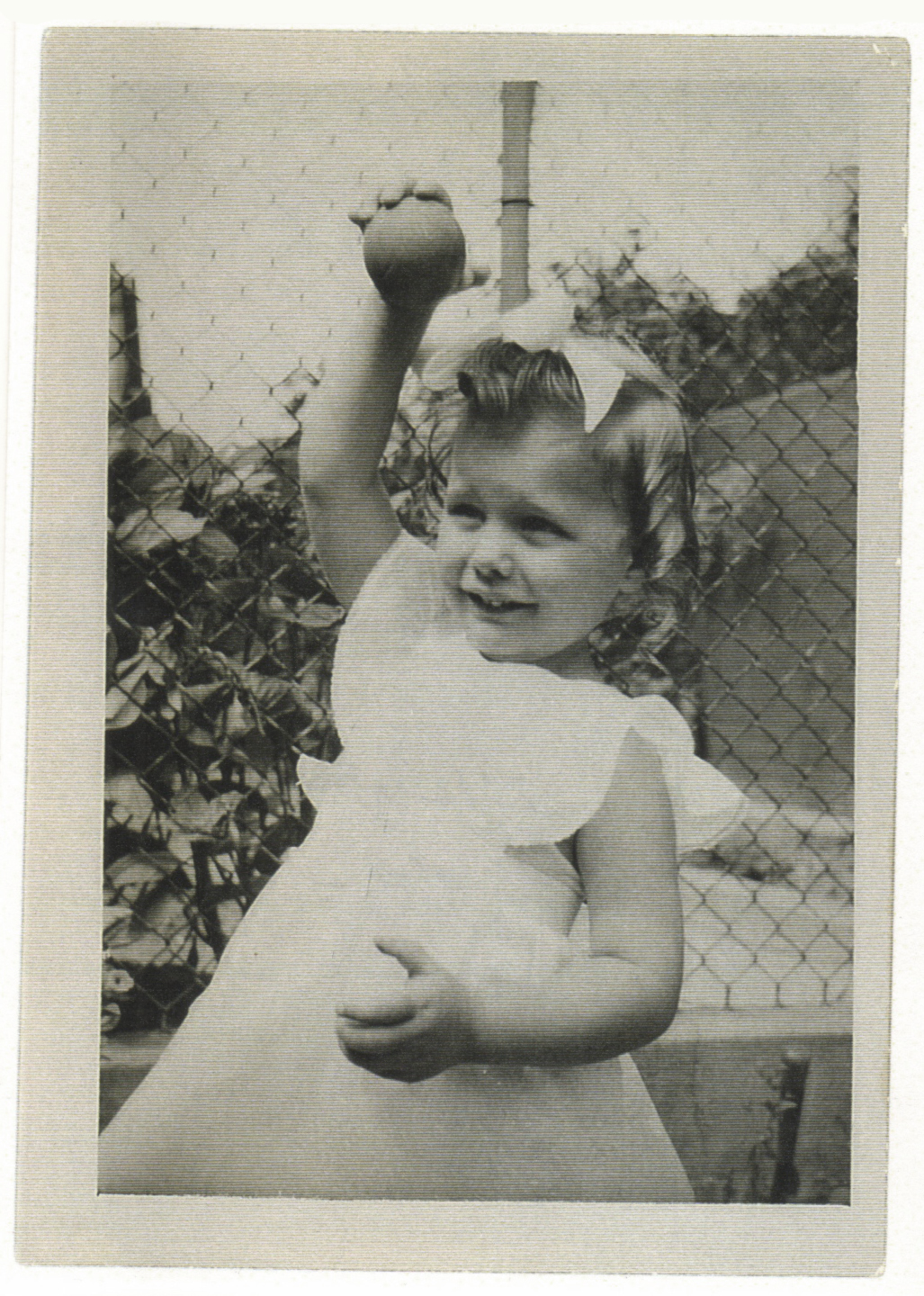 My mom 1946 / Rosemary 2.5 years old