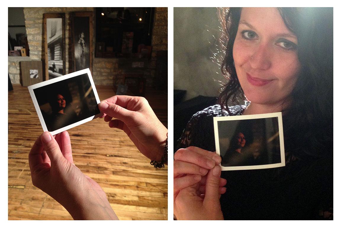 fun with polaroids