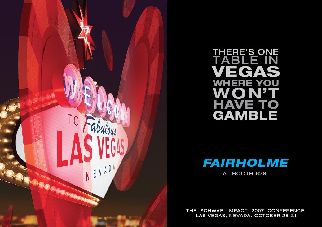 Las Vegas Investor Conference Promo Card