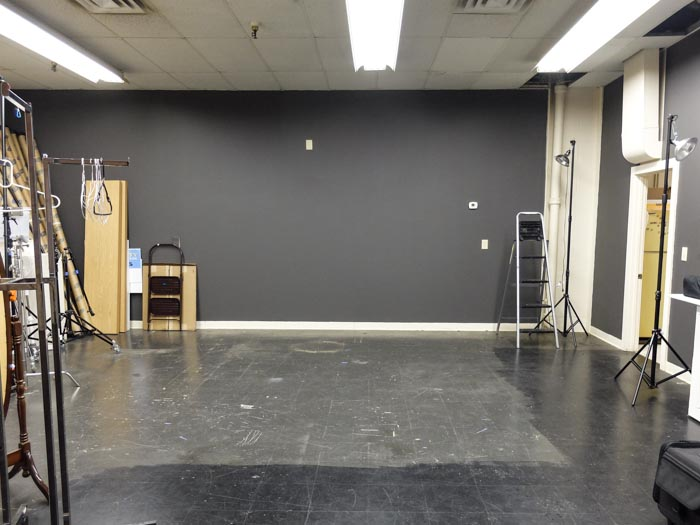 M10 Studio's shooting area