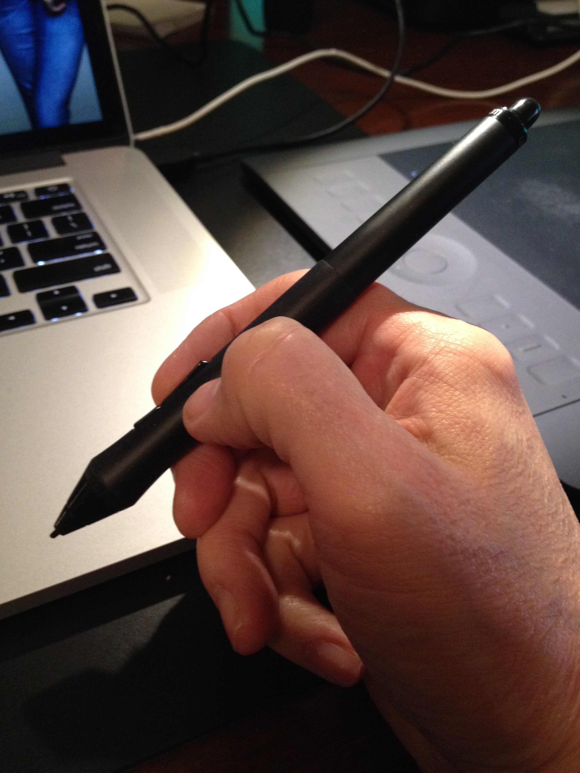 The pen is mightier than the sword, or at least that's what I've read.