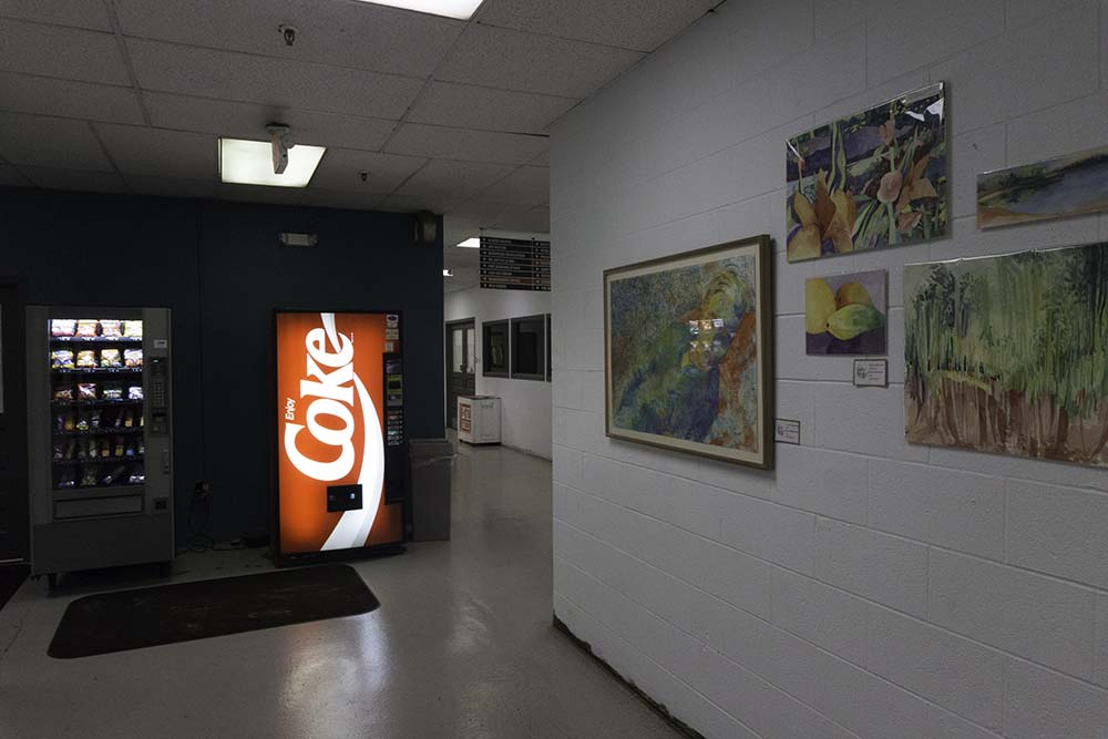 Turn left past the Coke machine and you are at M10 Studio!!!