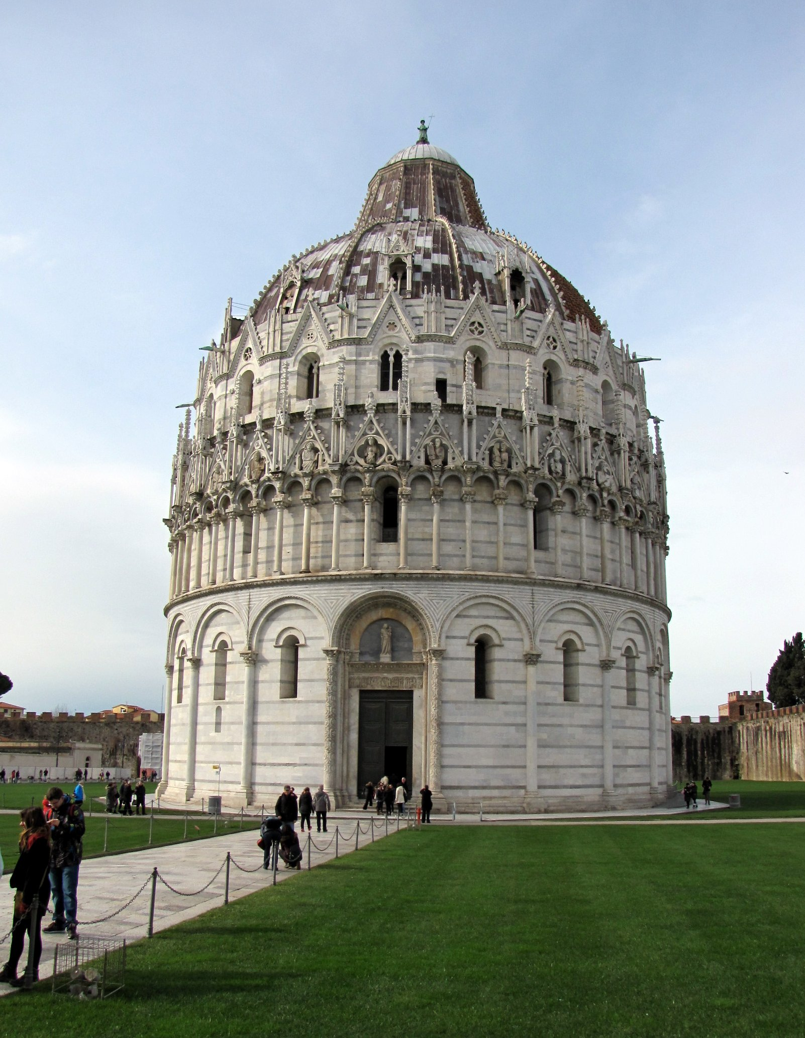 The baptistry.