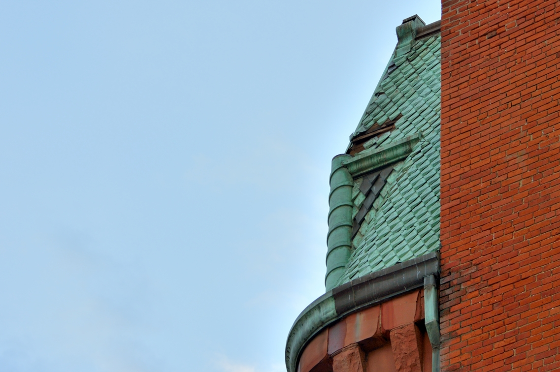 Old Tile Roof Downtown