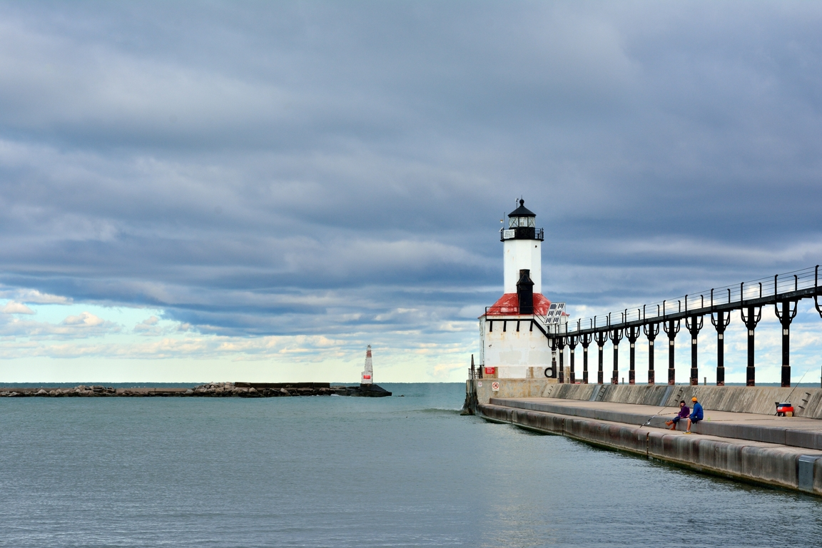 Fishing at the Lighthouse