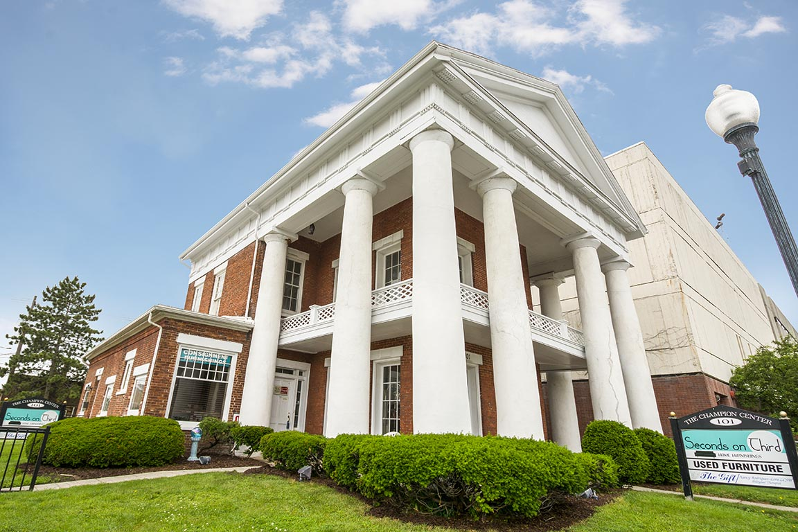 Classic Pillars and Porches