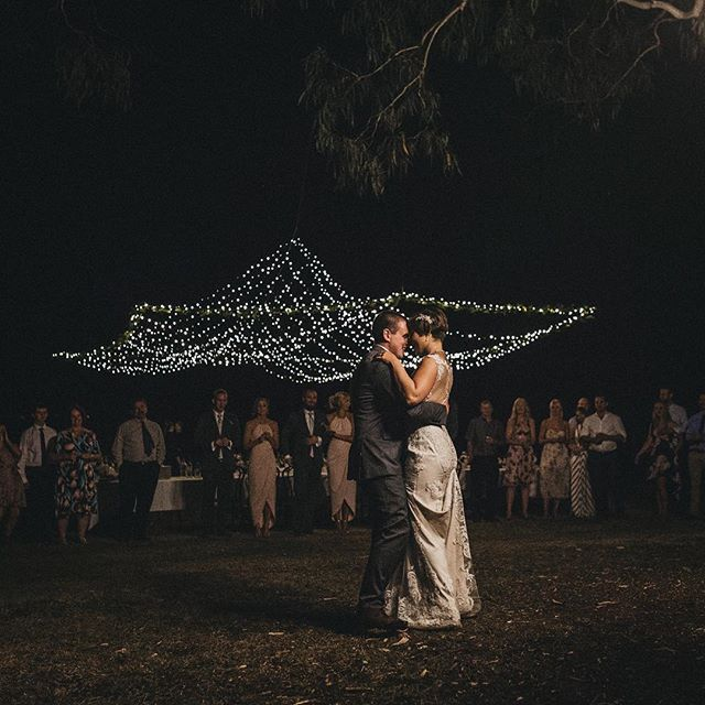 Elly + Alex's first dance under the gum trees, open sky & fairy lights on Saturday night. Couldn't have been more awesome ✨ . . . #noojee #gippsland #wedding #documentaryweddingphotography #weddingphotography #gippslandwedding #weddingphotographer #melbourneweddingphotographer #melbourneweddingphotography #firstdance #weddinginspo #junebugweddings #greenweddingshoes #heyheyhellomay #momentsovermountains #fairylights #australia #visitvictoria #melbournefolk #farmwedding #ruralwedding #countrystyle #justgoshoot #portraitphotography #graziher #authenticlovemag