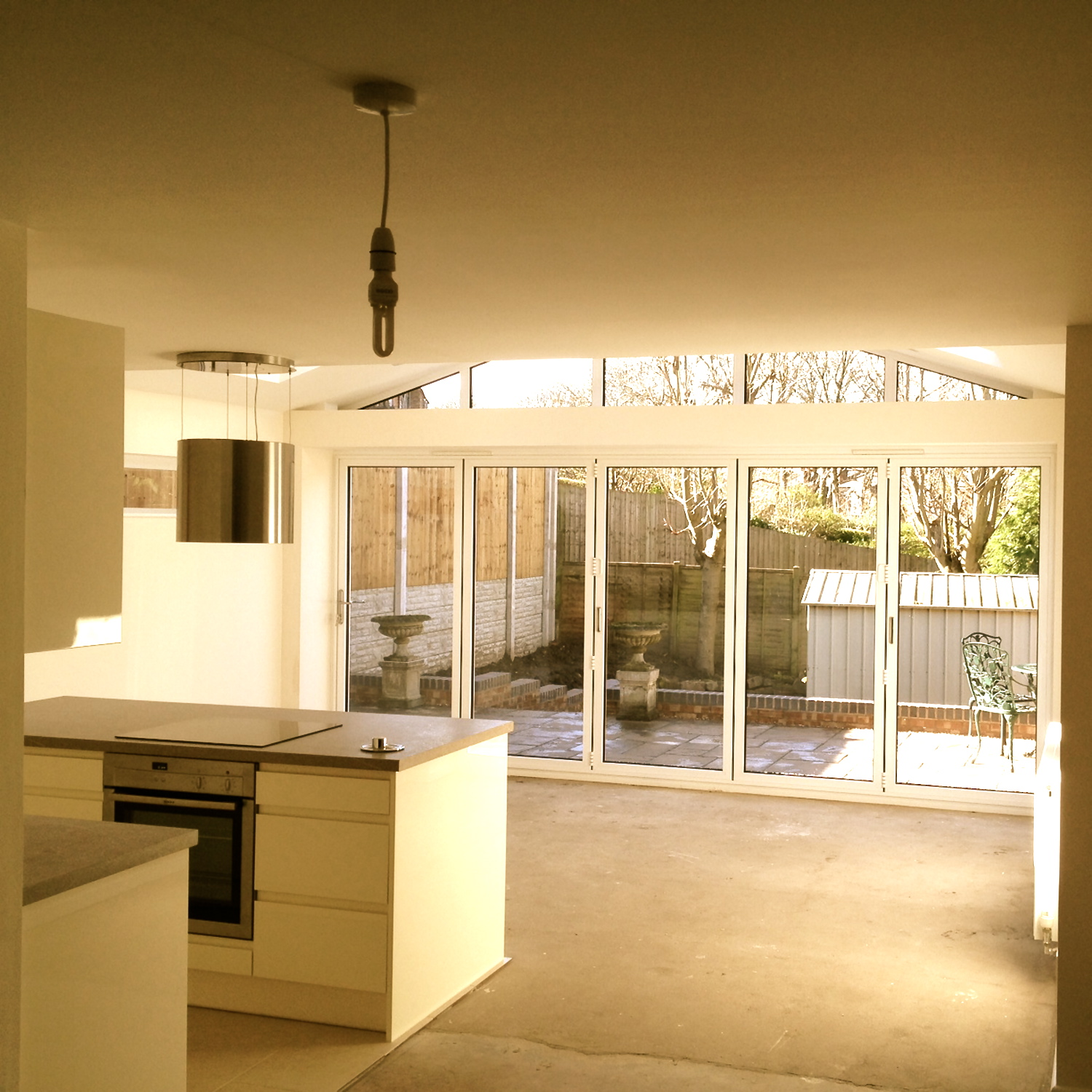 UNDER CONSTRUCTION North Road Harborne House Extension internal view