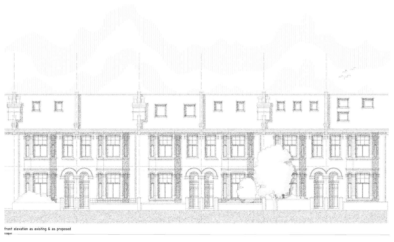 Edwardian house extension