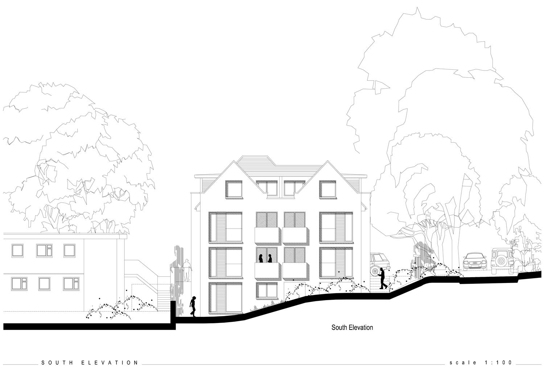 Bungalow replacement apartment scheme
