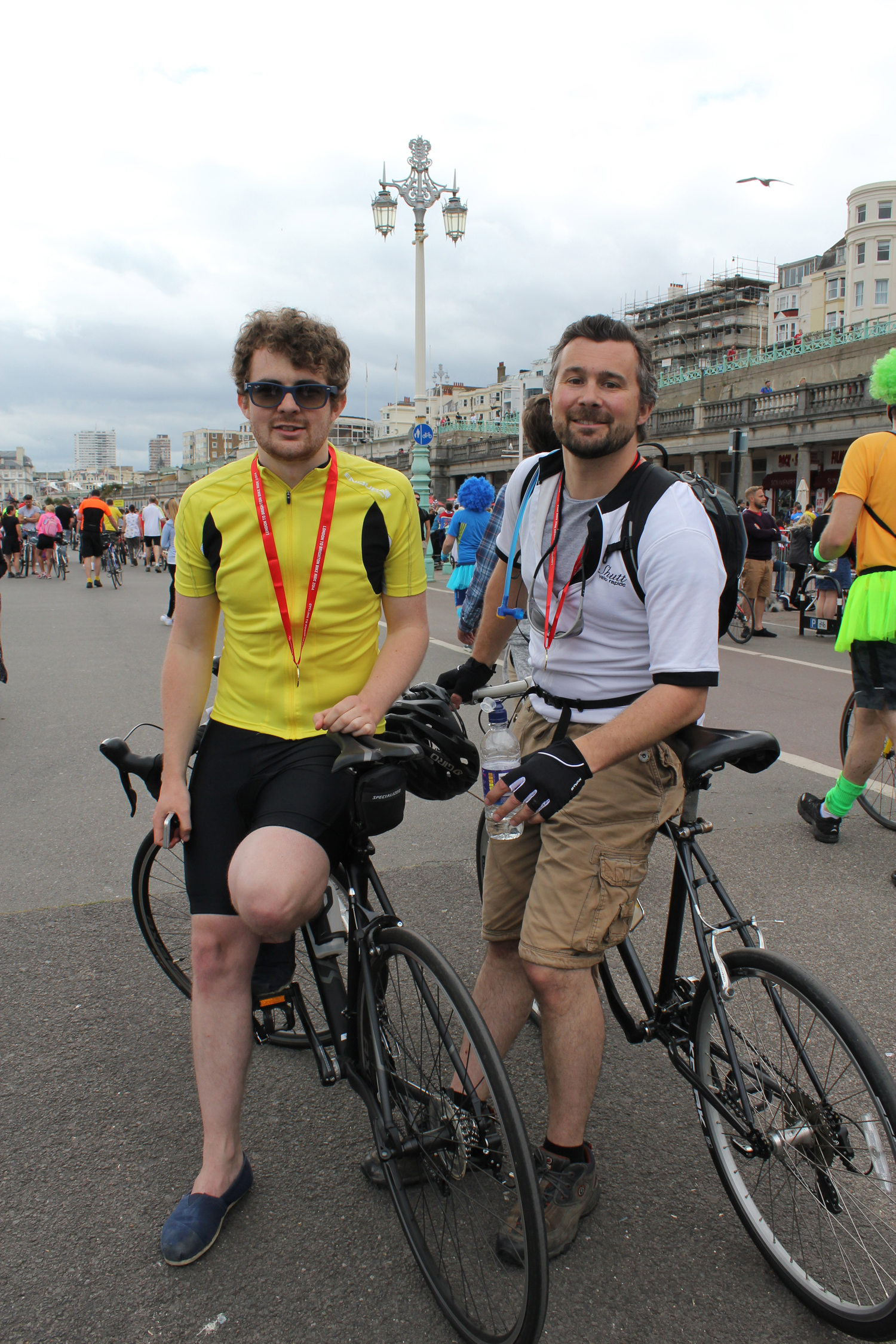 Completed London to Brighton Bike Ride by Mainwood Architects