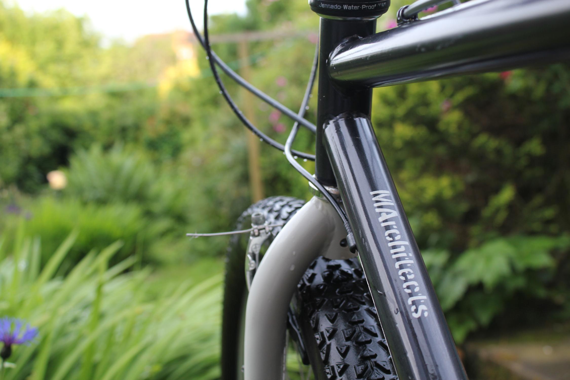Mainwood architects up-cycled 25 year old Bike