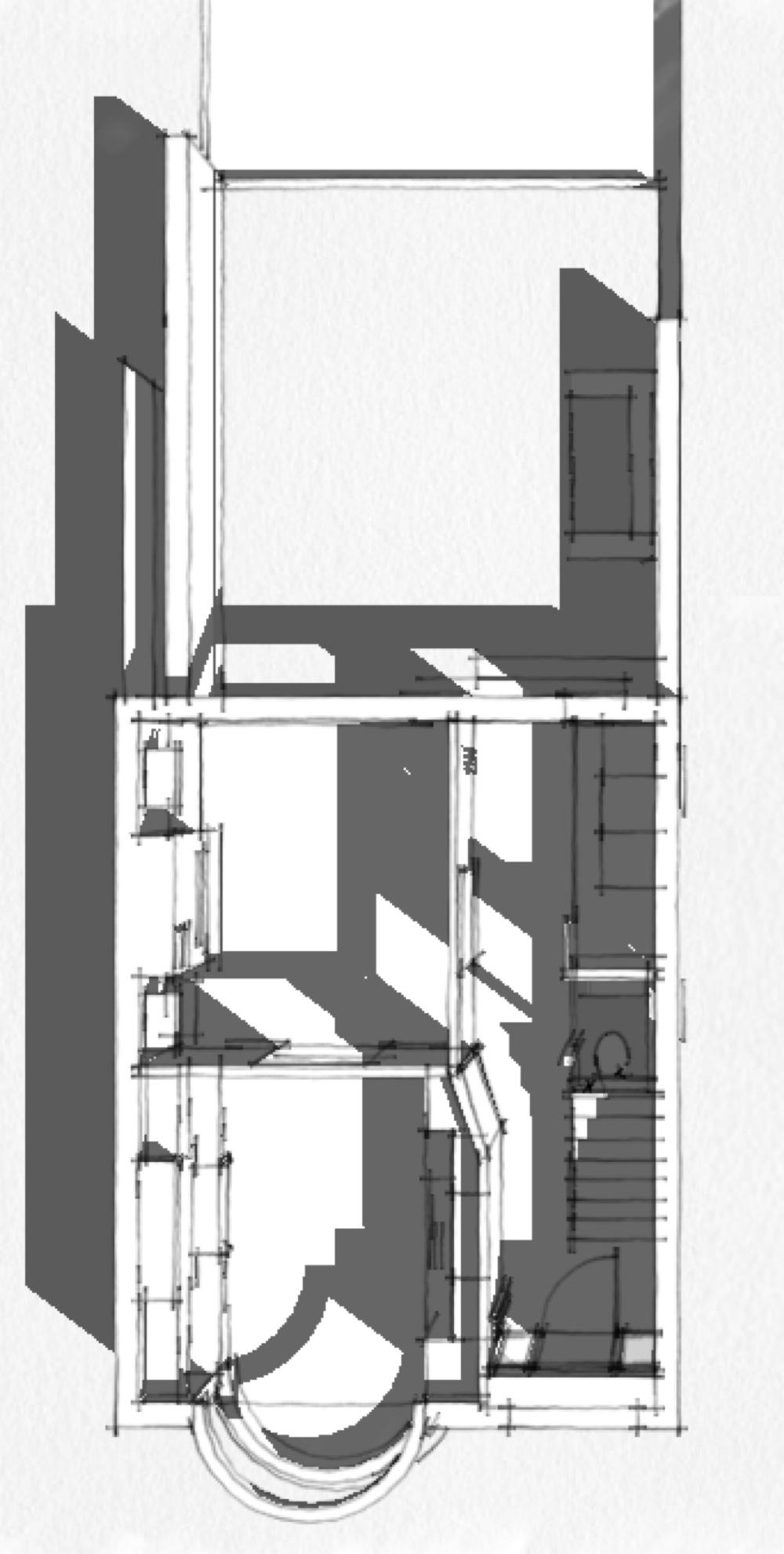 1930's - 3 bed semi internal remodel