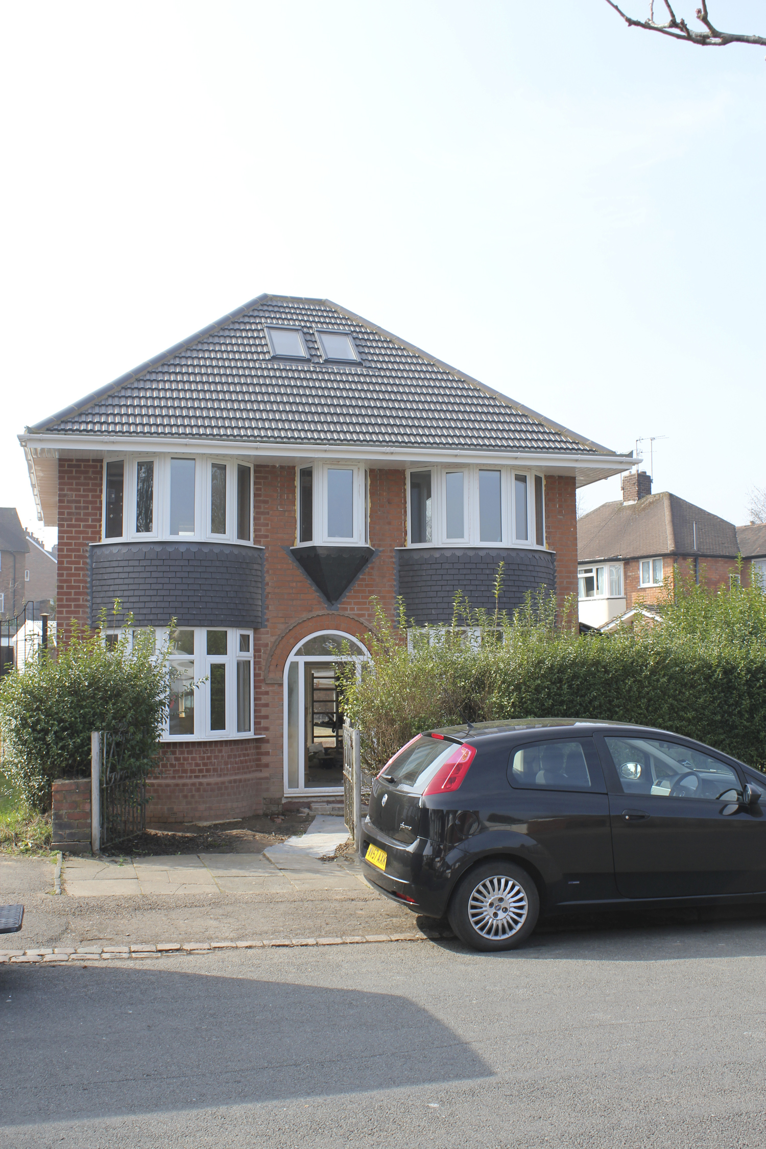 1930's semi- side and rear two storey extension