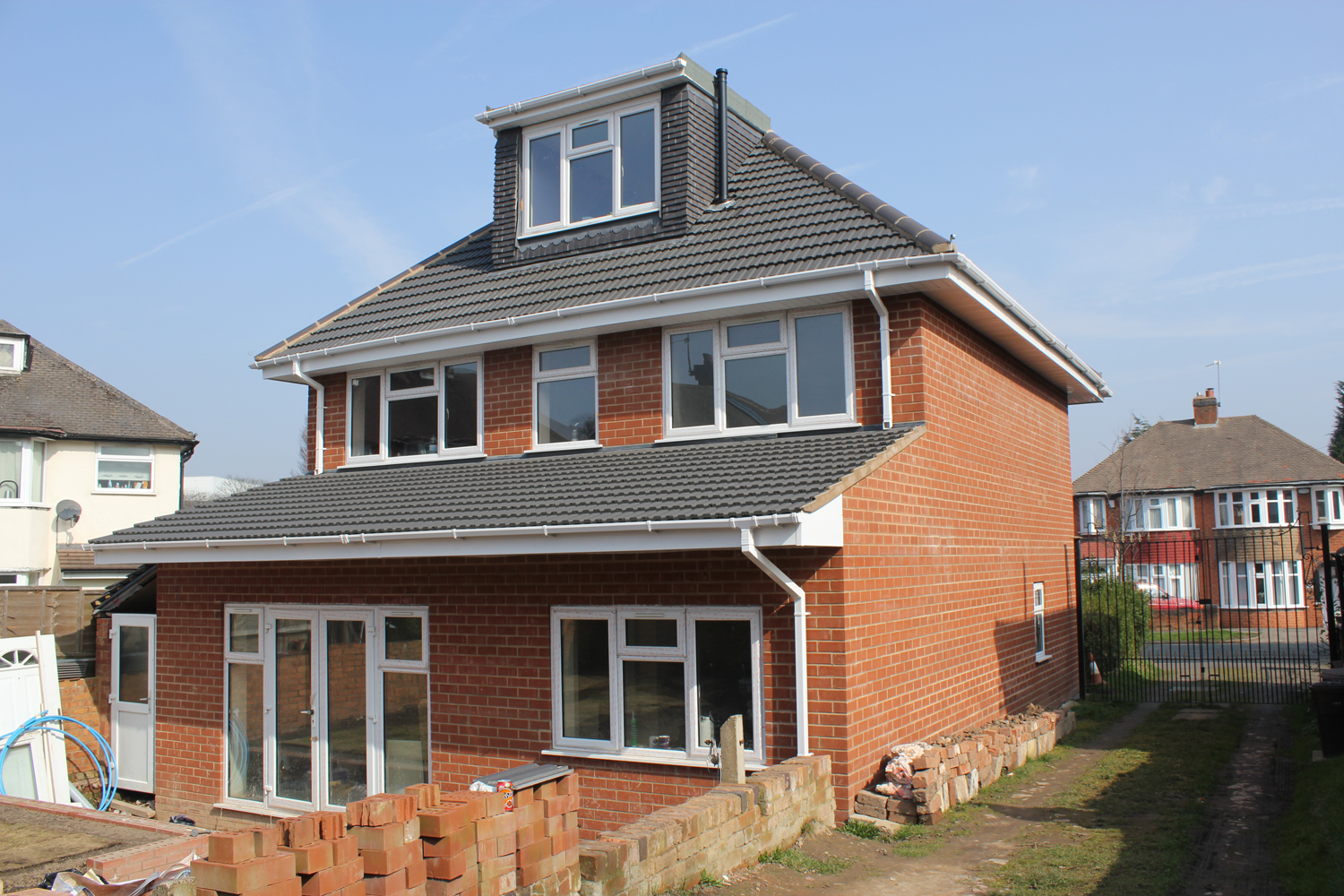 1930's rear extension with loft conversion