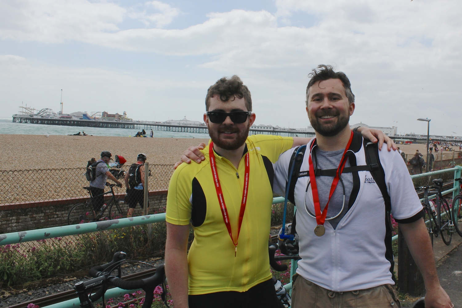 Ben & Jeff Mainwood London to Brighton 2015