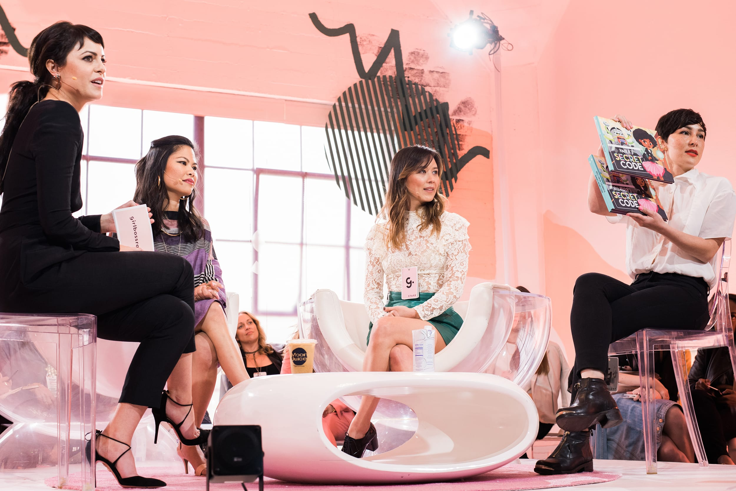 Girlboss Foundation Grant Winner with Sophia Amoruso