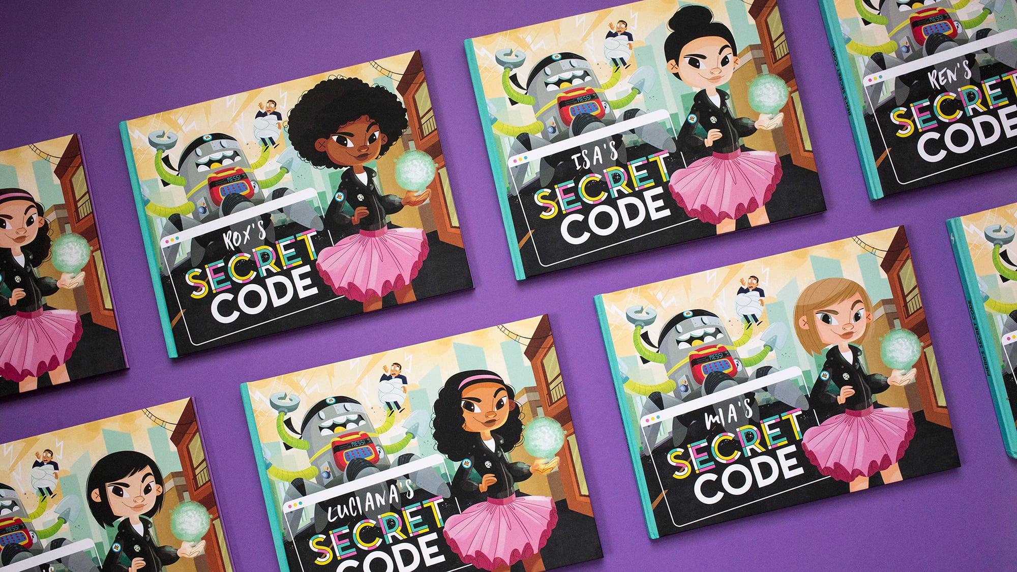 secret code mara lecocq girlboss rox customizable children's book tech stem collection_2000px_optim.jpg