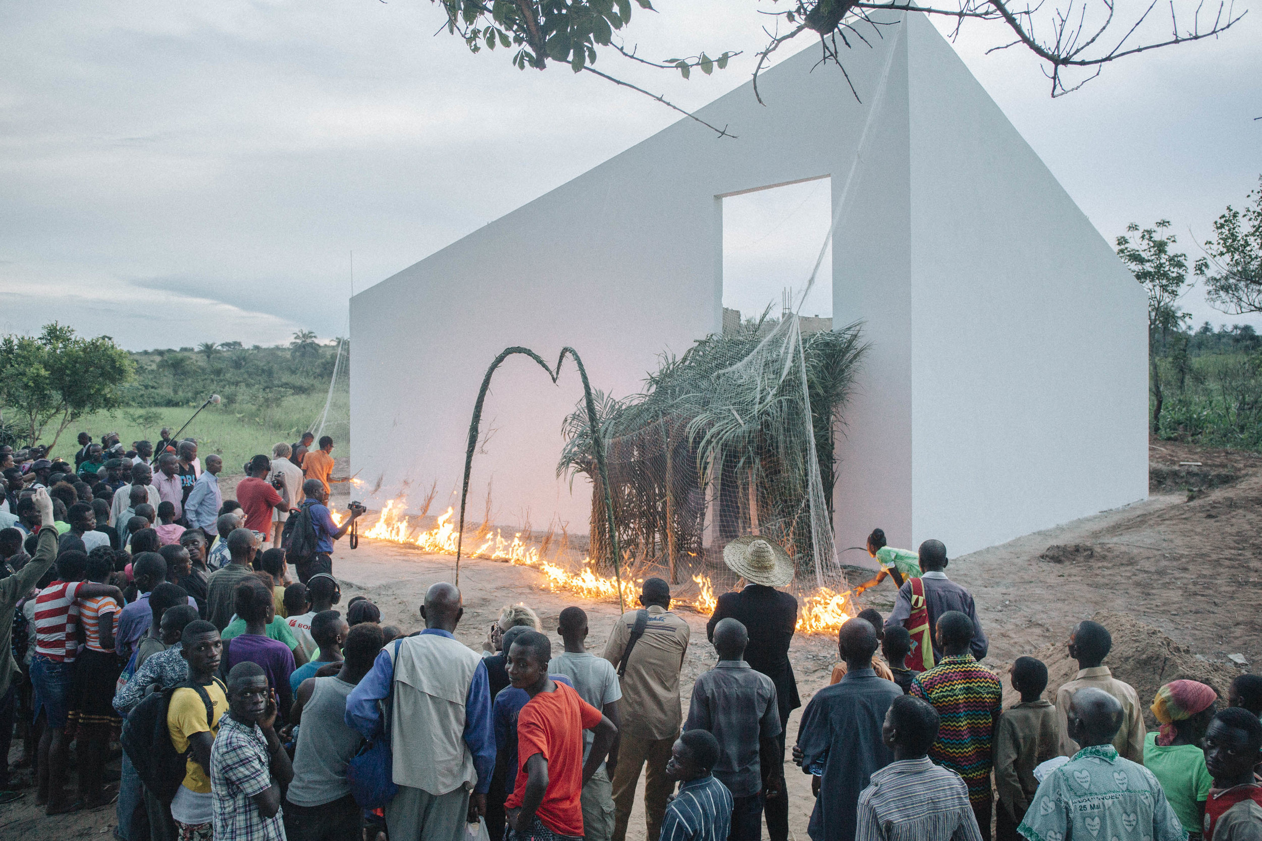 The Repatriation of the White Cube, Lusanga, Congo