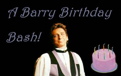 Big Barry Birthday Bash!