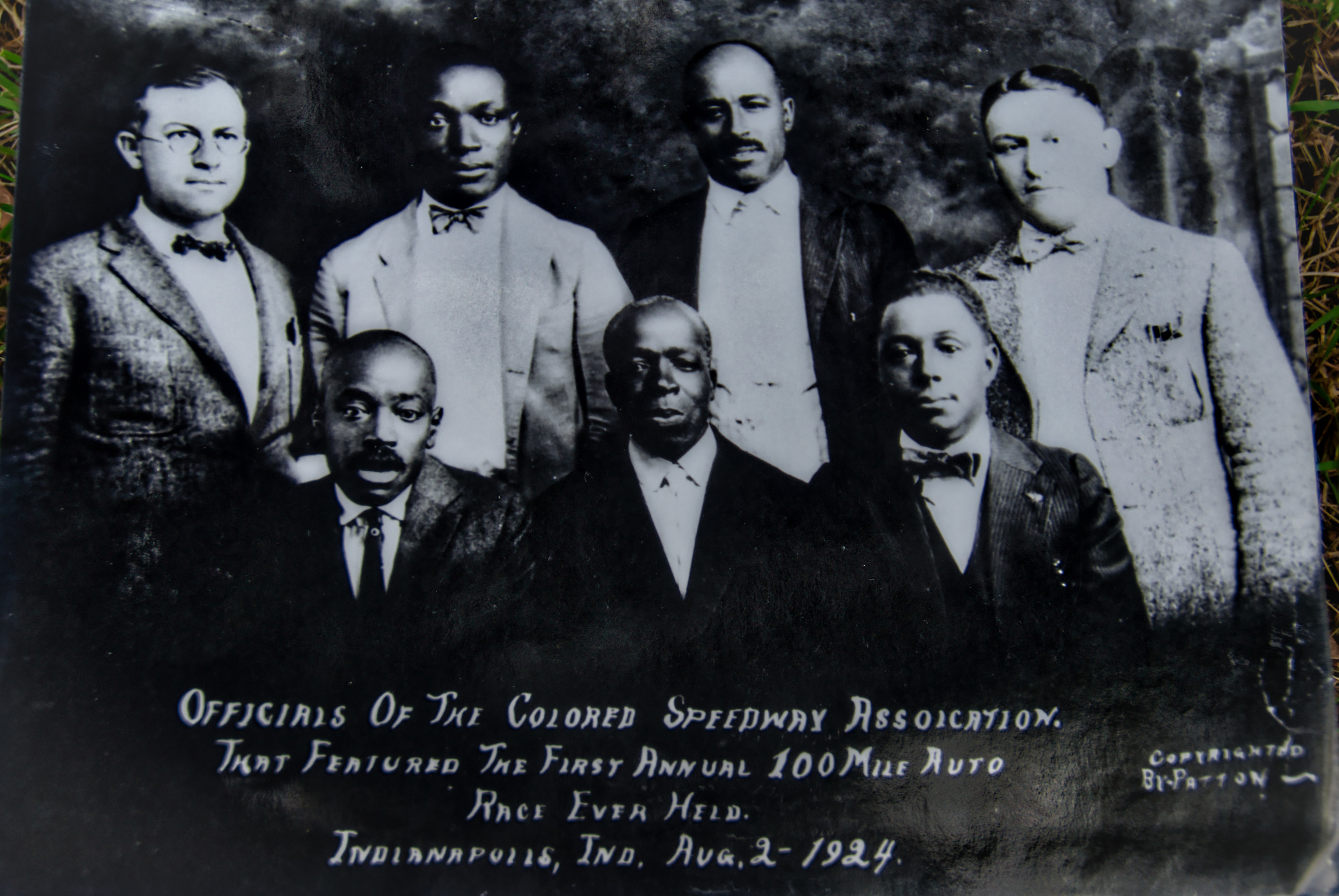 Officials of the Colored Speedway Association
