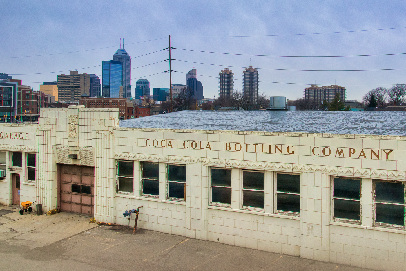 Cola Cola Bottling Co. and Indy Skyline